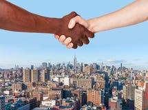 Business Handshake Stock Photography