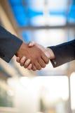 Business Handshake,blurry background Stock Photo