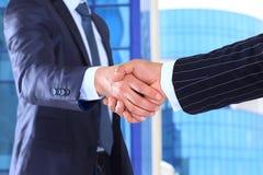 Business man ready to handshake Royalty Free Stock Image