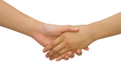 Business handshake between business people Royalty Free Stock Photography