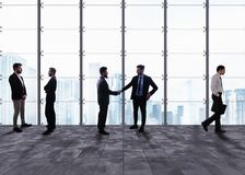 Business handshake. Concept of teamwork and partnership Stock Images