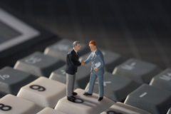 Business handshake concept Stock Photography