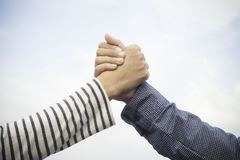 Business handshake concept Business partners Stock Photos