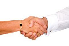 Business handshake deal Stock Photos