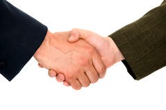 Business handshake deal Stock Images