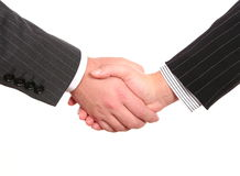 Business handshake deal Stock Photography