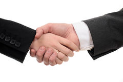 Business handshake deal Royalty Free Stock Photos