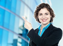 Business handshake, the deal Is finalized royalty free stock photos
