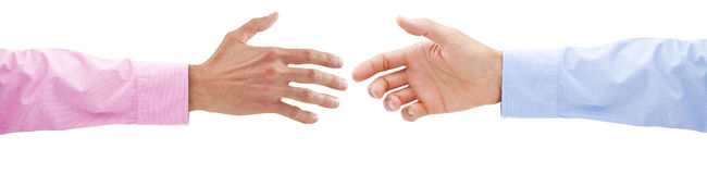 Business Handshake Hands Stock Images