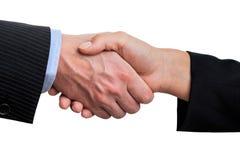 Business handshake, isolated Stock Image