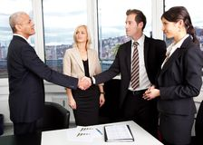 Free Business Handshake Over The Deal Stock Photo - 26648240