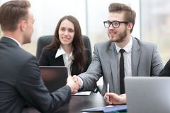 Business handshake business partners Royalty Free Stock Image