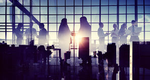 Business Handshake Partnership Agreement Middle Eastern Concept Royalty Free Stock Images