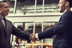 Business Handshake Success Deal Concept Stock Image