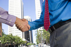 Business Handshake For Successful Deal Royalty Free Stock Photo