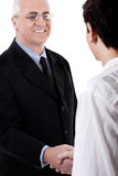 Business handshake and trust Royalty Free Stock Photos