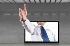 Business handshake Stock Images