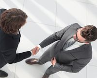 Business handshake and business people concepts. Royalty Free Stock Photo