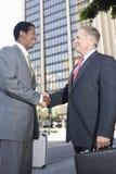 Business Handshake Between Two Partners Royalty Free Stock Photo