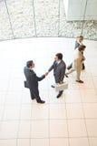 Business handshakes stock image