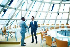 Business handshaking Royalty Free Stock Images