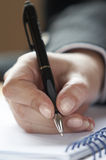 Business handwriting 2 Royalty Free Stock Image