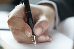 Business handwriting 3 Stock Images