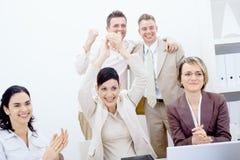 business happy team Στοκ εικόνες με δικαίωμα ελεύθερης χρήσης
