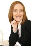 business happy woman Στοκ Εικόνες