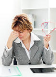 Business  Headache Stock Image