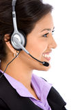 Business helpdesk operator Stock Images