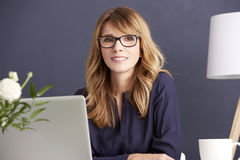 Business her passion stock photos