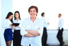 business her team woman Στοκ εικόνες με δικαίωμα ελεύθερης χρήσης