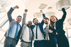 Business heroes Stock Photos