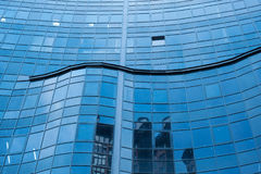 Business high-rise glass building for background success concept.  Royalty Free Stock Photo