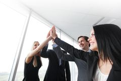 Business highfive Royalty Free Stock Photos