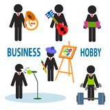 Business hobby Royalty Free Stock Photography