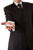 business holding man money Στοκ Εικόνα