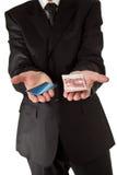 business holding man money Στοκ εικόνα με δικαίωμα ελεύθερης χρήσης