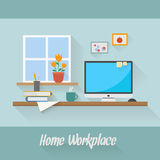 Business and home workplace Stock Image