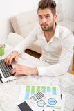 Business at home Stock Images