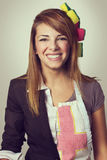 Business hostess Stock Images