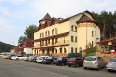 Business Hotel Russia in the resort Belokuriha Stock Photos