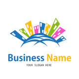 Business house icon design Stock Photography