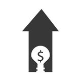Business house money icon. Illustration image Stock Image