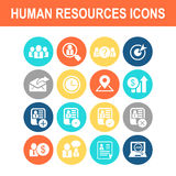 Business Human Resource icon Royalty Free Stock Photography