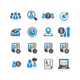 Business Human Resource icon Stock Photos