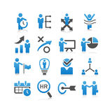 Business human resources icon Stock Image