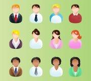 Business icon avatar Royalty Free Stock Photos