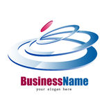 Business icon design Stock Photography
